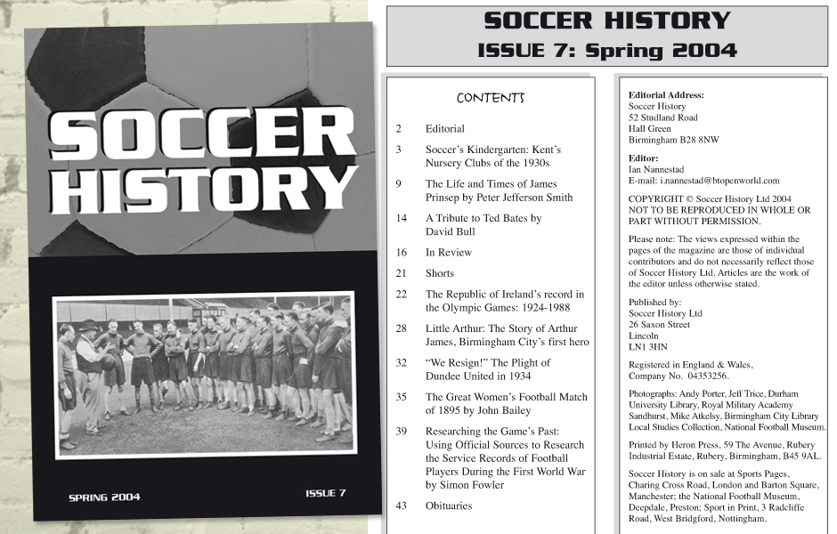 a paper on history and nature of soccer Football construction due to the audience and impromptu nature of the game, a paper football is often made out of a single sheet of paper the paper is folded similar to the way that an american flag is folded to form a triangle.